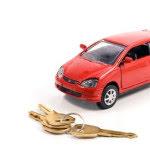 Mini Car Model with Keys