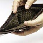 Empty Brown Wallet