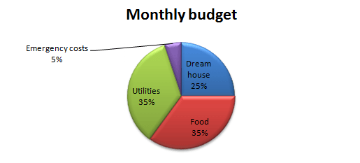 ideal monthly budget