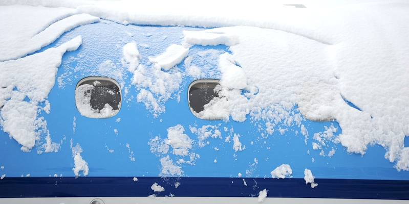 KLM window snow - Eric Page - CC BY-NC-ND 2.0