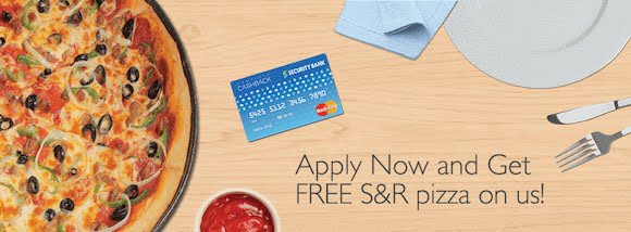 Ad for Security Bank Complete Cashback Card Promo