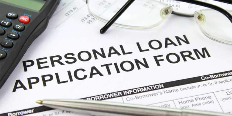 application form for loan without card