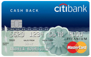 Citibank Cashback Credit Card image