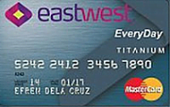 EastWest Bank EveryDay Credit Card