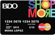BDO Shopmore Credit Card image
