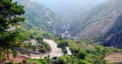 Baguio zigzag roads image