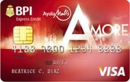 BPI Ayala Malls Amore Visa Credit Card image