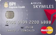 BPI Skymiles MasterCard Credit Card image