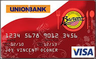 Union Bank Burgoo Visa Credit Card image