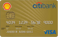 Citibank Shell Credit Card image