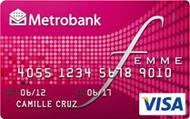 Metrobank Femme Visa Credit Card image