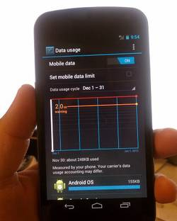 turn off mobile data image