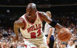 michael jordan drives image