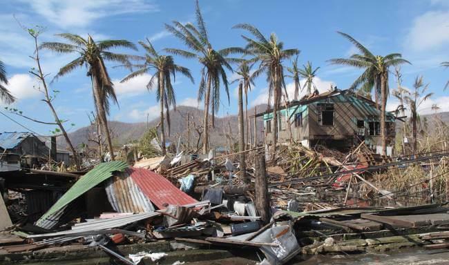 Image of Typhoon Haiyan Damage