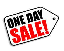 one day sale image