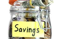 savings in a jar image