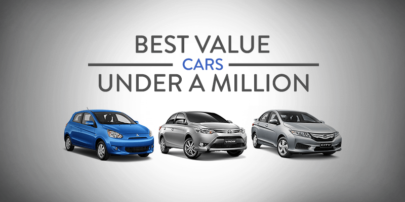 New Car Guide: The Best Cars Under P1 Million
