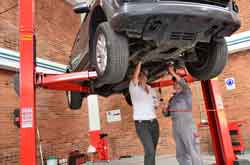car maintenance image
