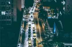 long traffic jam image