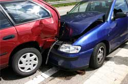 2 car accident image
