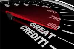 have unblemished credit history image