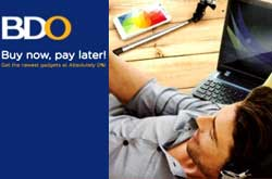 BDO Buy Now Pay Later promo image