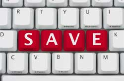 save text on keyboard