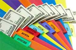 investment options folder