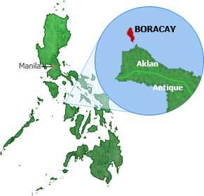 boracay map philippines