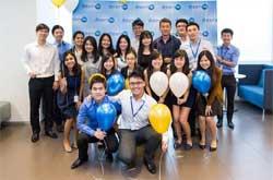 group image of interns