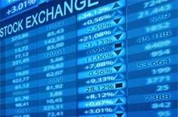 stock exchange monitor