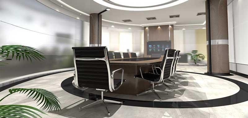 empty meeting room image