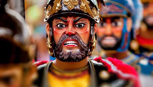 moriones festival mask