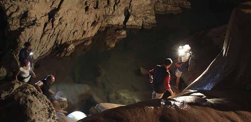 spelunking in the Philippines