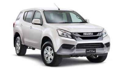 Isuzu MU-X LS-A 3.0 RWD 5AT (Diesel)