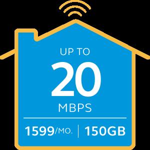 Globe Go Fast Broadband Plan 1599