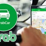 Mobile Phone Using Grab App