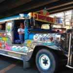 Jeepney In Streets of Manila