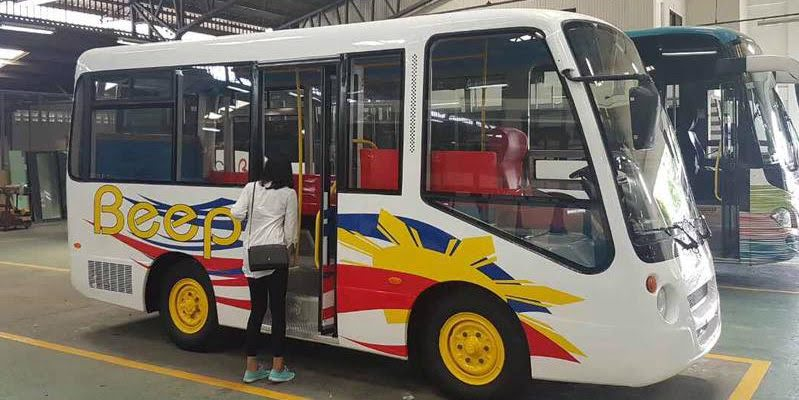 E-Jeepneys Set To Operate This Month