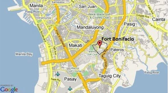 Bonifacio Global City Map