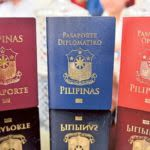 various Philippine passports old and new