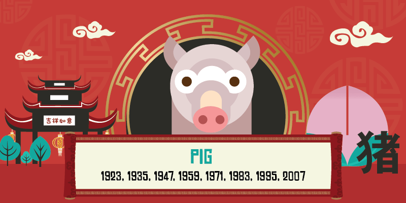 year of the pig year list