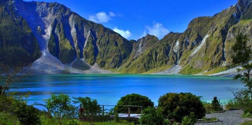 Mount Pinatubo Volcano