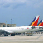 PAL airplanes taxied
