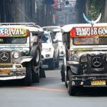 Jeepneys in the streets of Manila