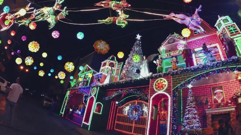 Christmas In The Philippines.December Holiday Destinations For Filipinos