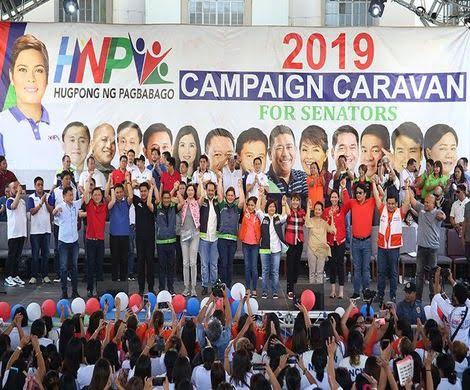 hugpong ng pagbabago senatoriables