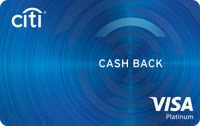 Citi Cash Back Visa Credit Card