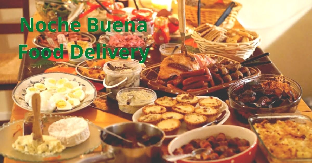 Affordable Noche Buena Food Platters Delivery