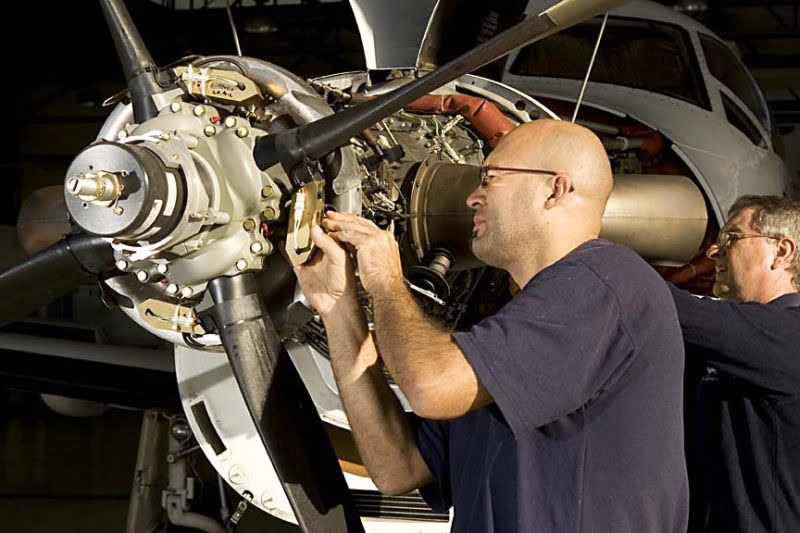 engineer doing work